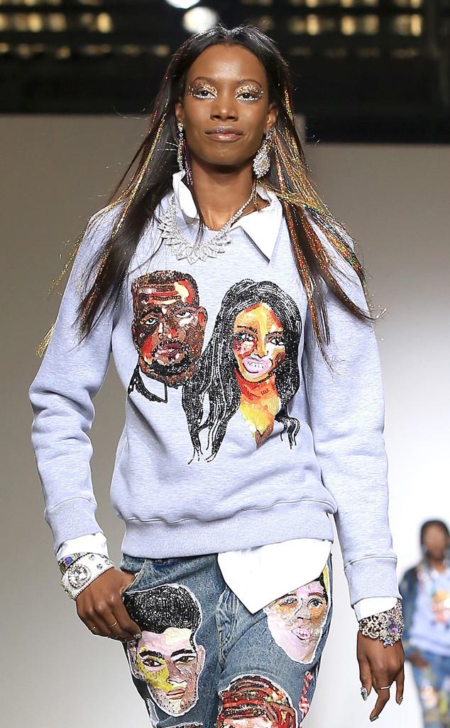 Ashish, London Fashion Week, Kim Kardashian, Kanye West
