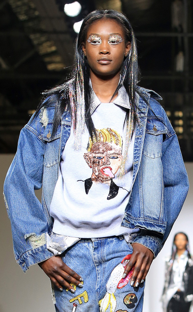 Ashish, London Fashion Week, Miley Cyrus