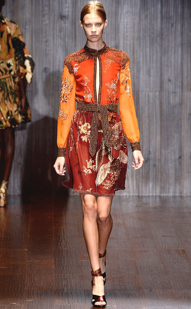 Gucci From Best Looks From Milan Fashion Week Spring 2015 E News