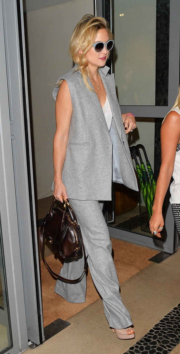 Shades Of Gray From Kate Hudson 39 S Street Style E News