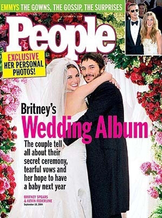 Britney Spears, Kevin Fedarline Wedding, People