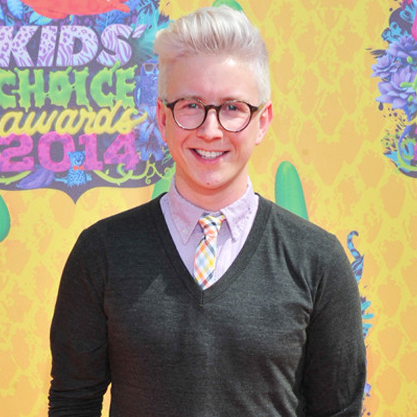 Tyler Oakley, Kids Choice Awards 2014