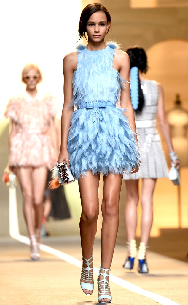 Fendi From Best Looks From Milan Fashion Week Spring 2015 E News