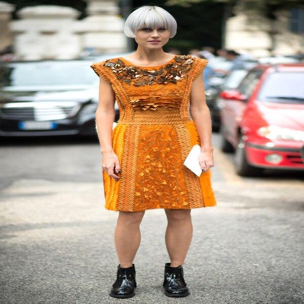 Linda Tol From Street Style Milan Fashion Week Spring 2015 E News Uk