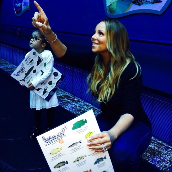Mariah Carey and Dem Babies Have Fun 'Under the Sea ... Mariah Carey Instagram