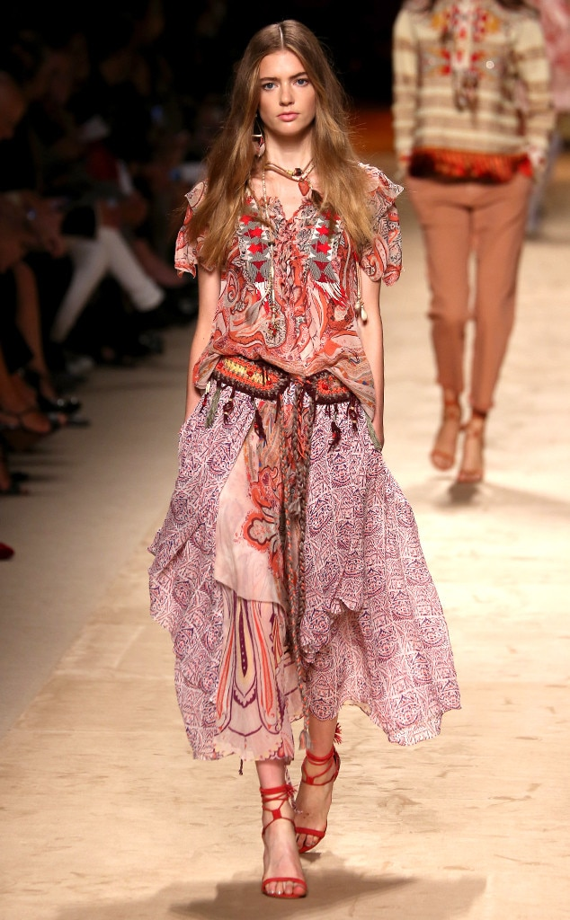 Etro from Best Looks From Milan Fashion Week Spring 2015 ...