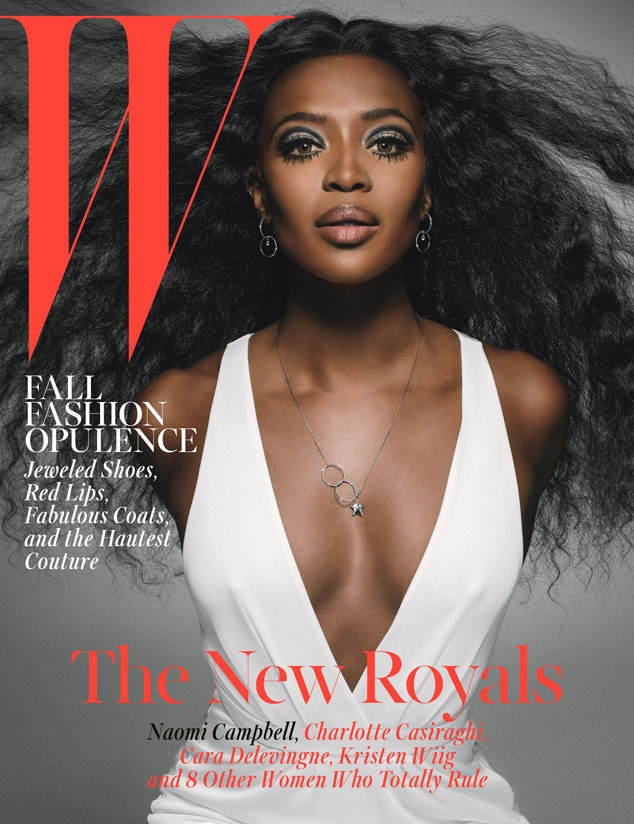 Naomi Campbell's W Magazine Cover Is Disarming: Is It The