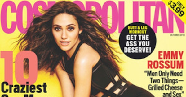 Emmy Rossum Admits Texting Can Be Dangerous, Talks Having ...