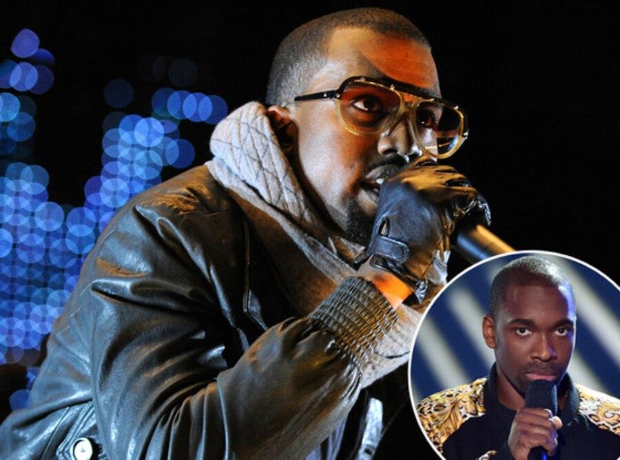 Kanye West, Jay Pharoah, MTV VMAs