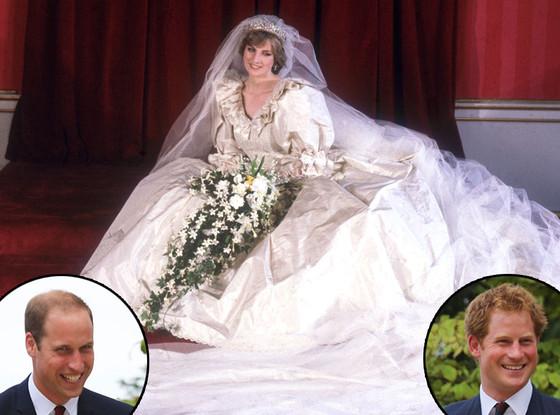 Prince William, Prince Harry, Princess Diana