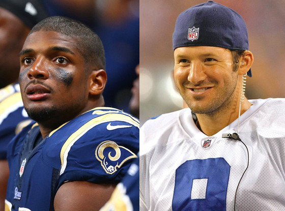 Michael Sam, Tony Romo