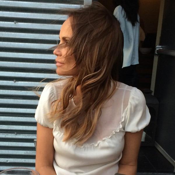 Kirstin Chenoweth, Hair