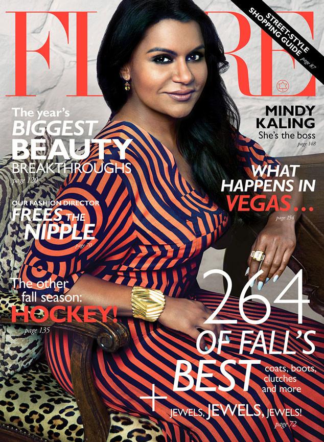 Mindy Kaling, Flare Magazine