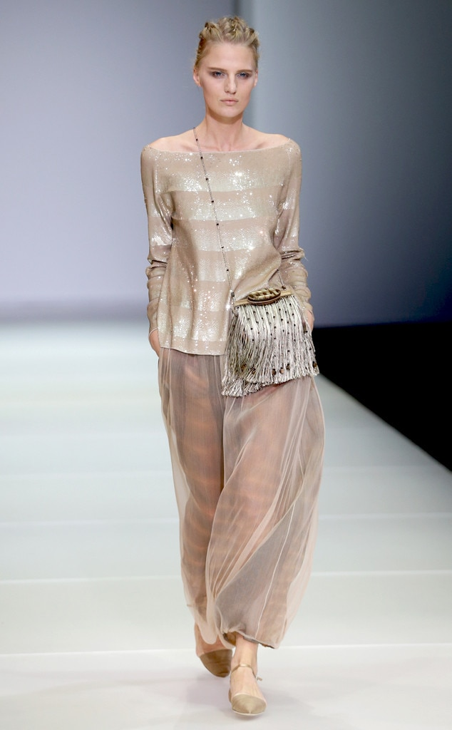 Giorgio Armani From Best Looks From Milan Fashion Week Spring 2015 E News Uk