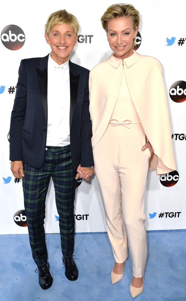 Portia de Rossi, Ellen Degeneres, Shondaland #TGIT
