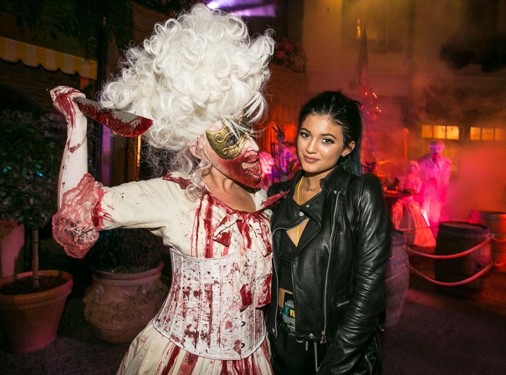 Kylie Jenner from Stars feiern Halloween 2014 | E! News