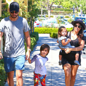 Kourtney Kardashian and Scott Disick's Family Pics