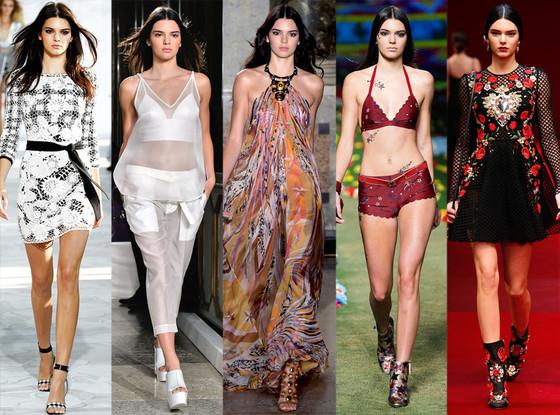 Kendall Jenner, Fashion Week