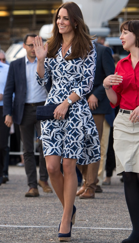 Duchess Catherine, Kate Middleton, DVF