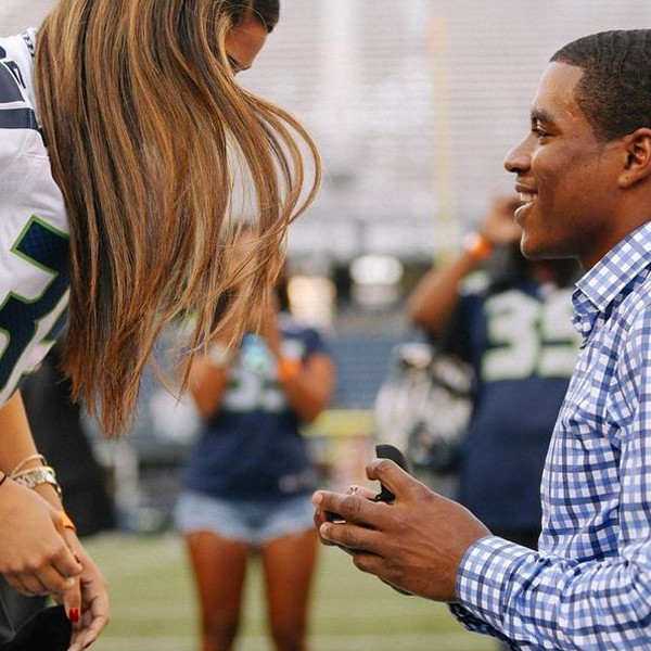 Seattle Seahawks' DeShawn Shead Proposes To His Girlfriend