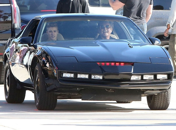 Justin Bieber, David Hasselhoff