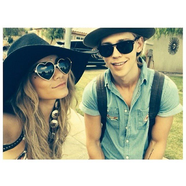 Vanessa Hudgens' Bohemian Coachella-Inspired Pics
