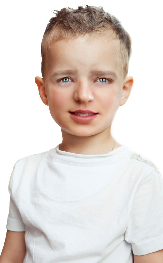 Celebrity Children photoshop, Britney Spears, Justin Timberlake