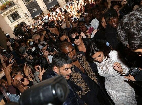 Kim Kardashian West, Kanye West, Kris Jenner