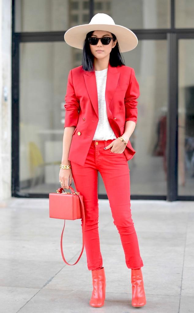 Yoyo Cao From Street Style Paris Fashion Week Spring 2015