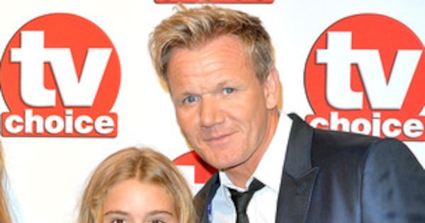 gordon ramsay 39 s 12 year old daughter matilda gets her own cooking show e news. Black Bedroom Furniture Sets. Home Design Ideas