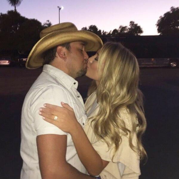 Jason Aldean, Brittany Kerr, Instagram