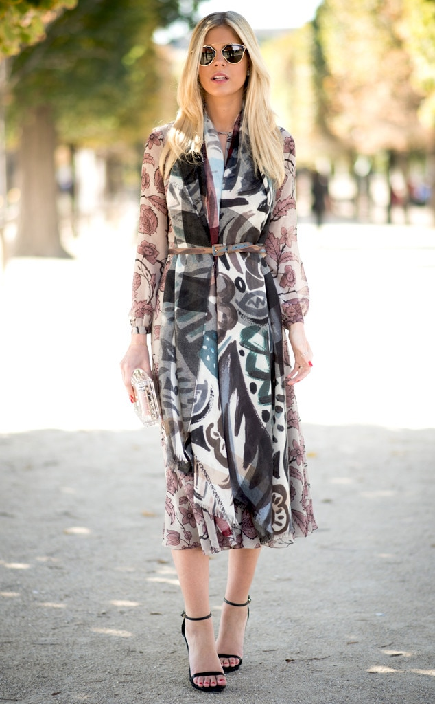 Lala Rudge From Street Style Paris Fashion Week Spring 2015 E News