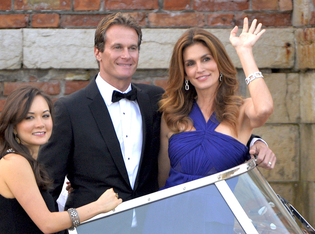 cindy crawford and rande gerber from george clooneys