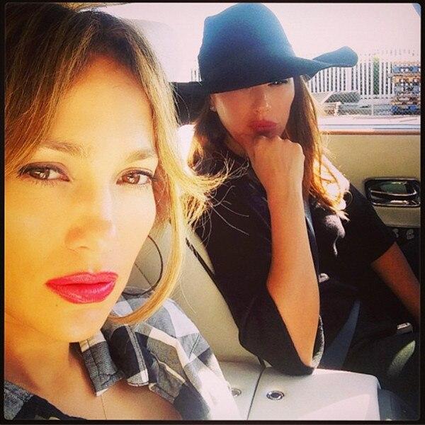 Jennifer Lopez, Leah Remini
