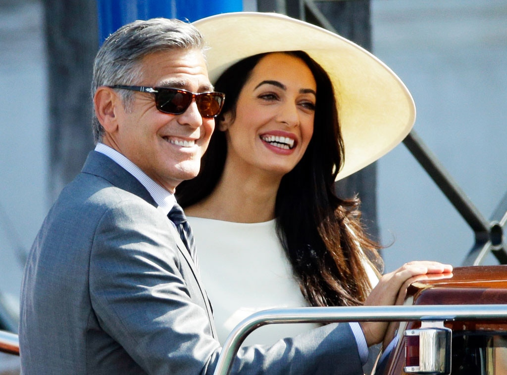George Clooney praises pregnant wife Amal: 'She is amazing'