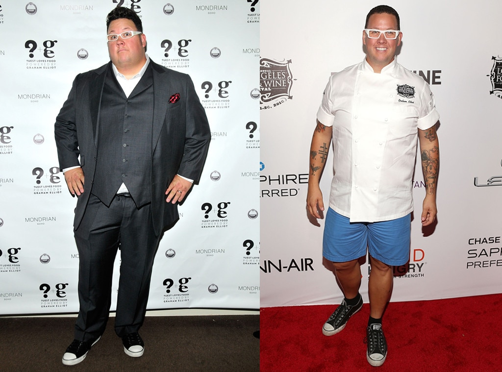 Graham Elliot, Weight Loss