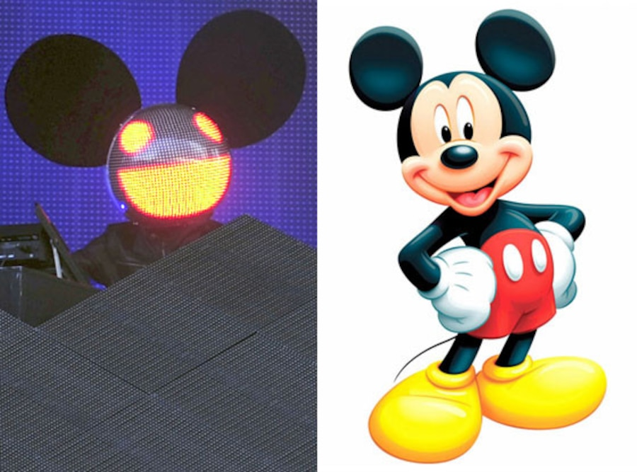 DeadMau5, Mickey Mouse