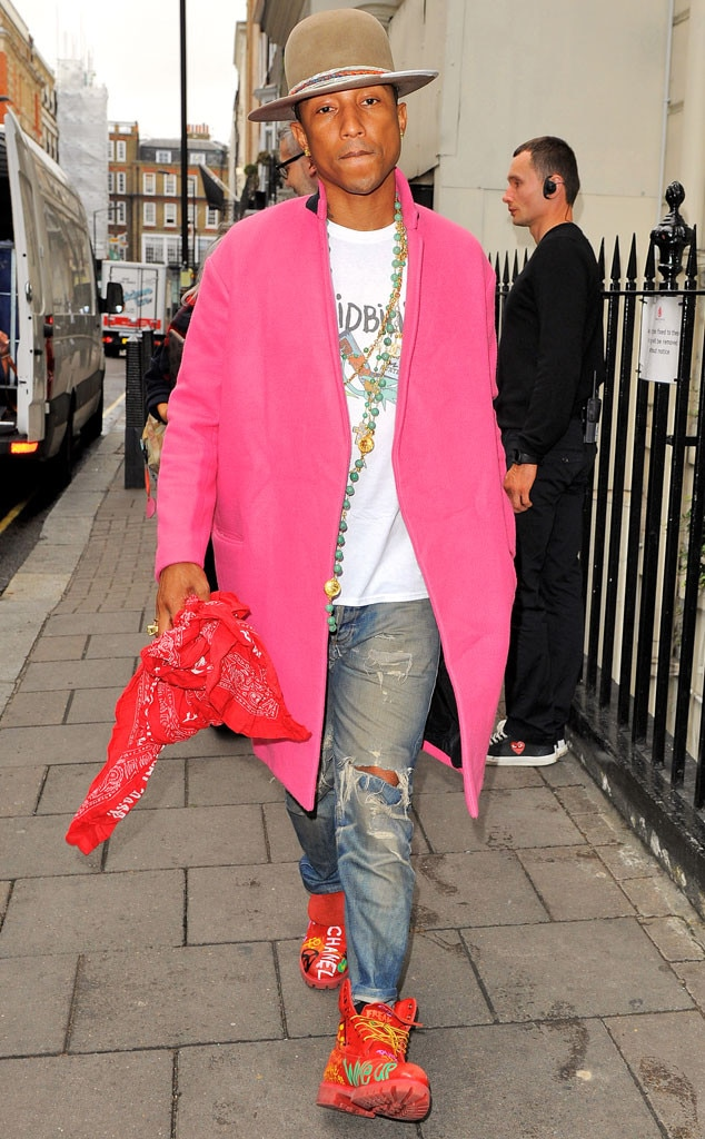 pinky keen from pharrell williams funkyfresh fashion e