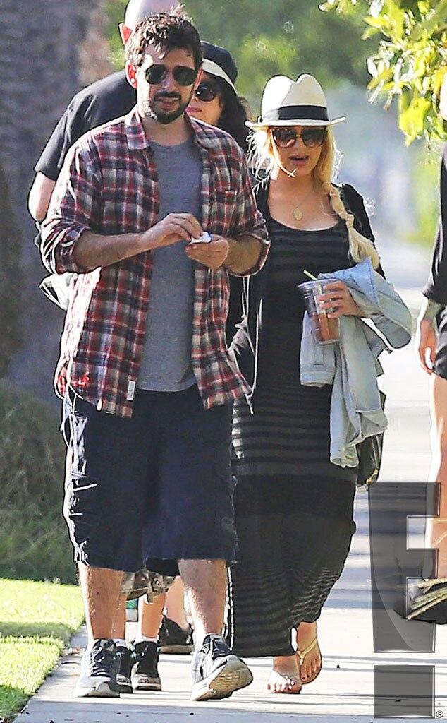Christina Aguilera, Jordan Bratman, First Post Baby Pics, Exclusive