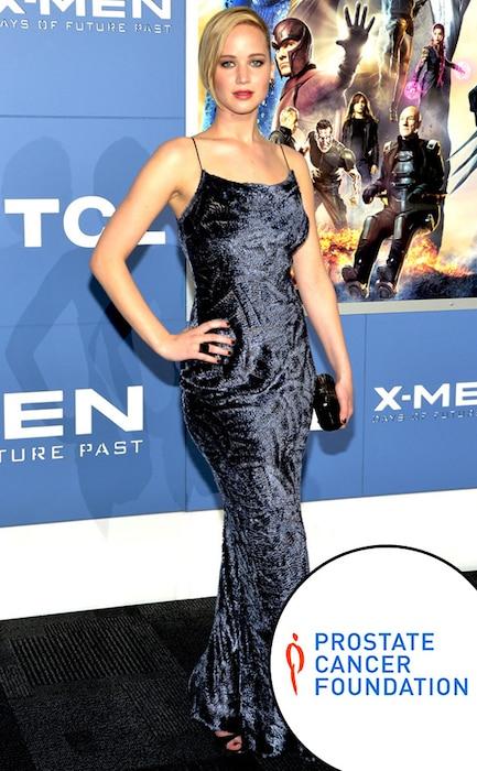 Jennifer Lawrence, Prostate Cancer Foundation