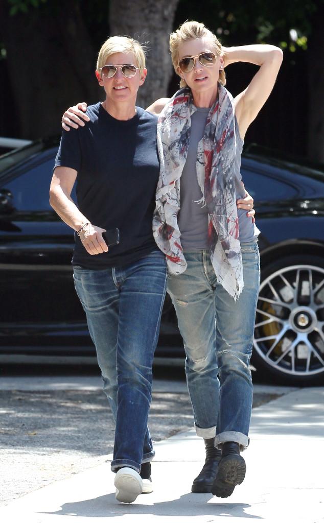 Ellen DeGeneres & Portia De Rossi From The Big Picture