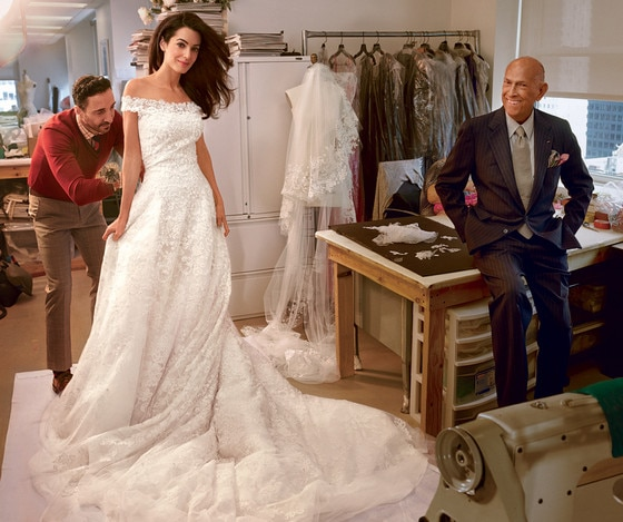 See Amal Alamuddin's Wedding Dress Fitting?Plus, Check Out Her ...