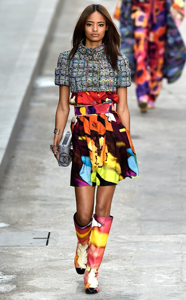 Chanel From Best Looks From Paris Fashion Week Spring 2015 E News
