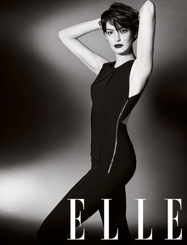 Anne Hathaway, Elle UK