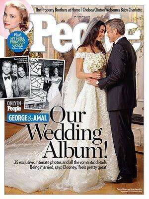 George Clooney, Amal Alamuddin, Clooney Wedding, People Magazine