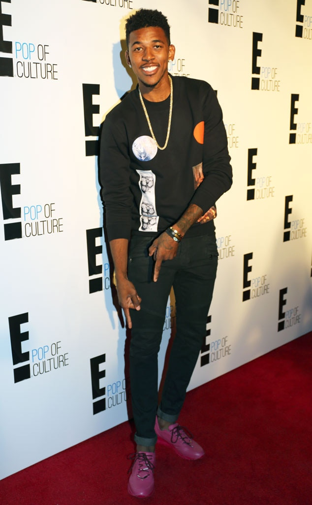 Nick Young From E 39 S New York Fashion Week Kickoff Party E News