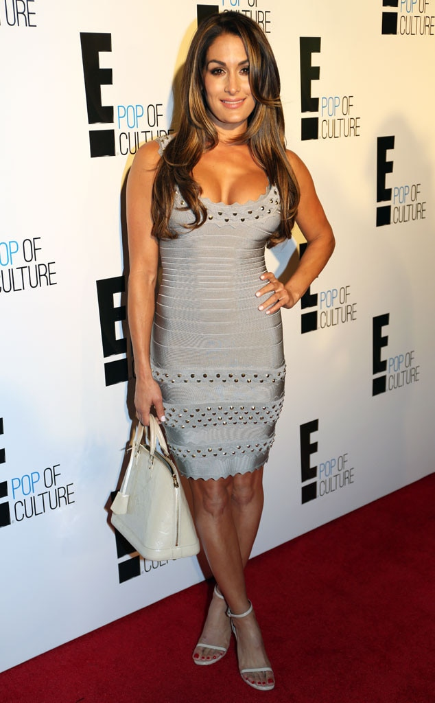 Nikki bella from e 39 s new york fashion week kickoff party e news Nikki bella fashion style