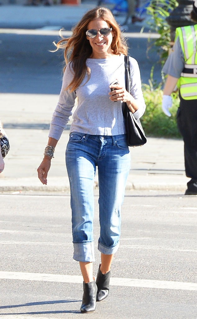 Comfy-Casual from Sarah Jessica Parker's Street Style