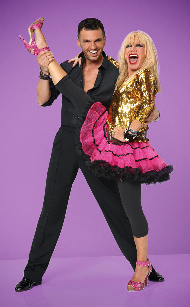 DWTS, DANCING WITH THE STARS, Betsey Johnson, Tony Dovolani