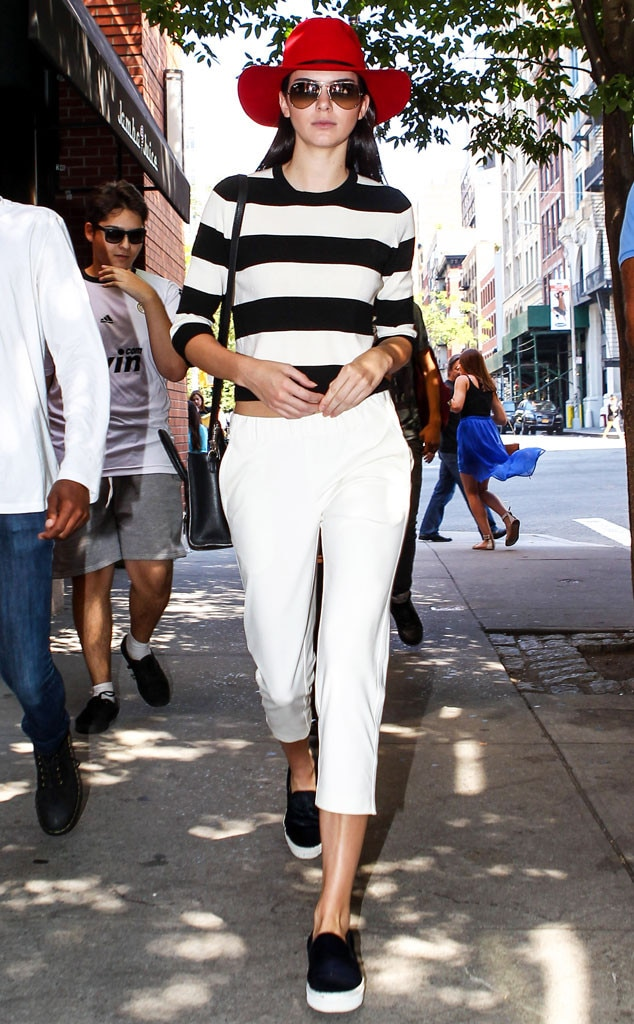 French Riviera From Kendall Jenner 39 S Street Style E News